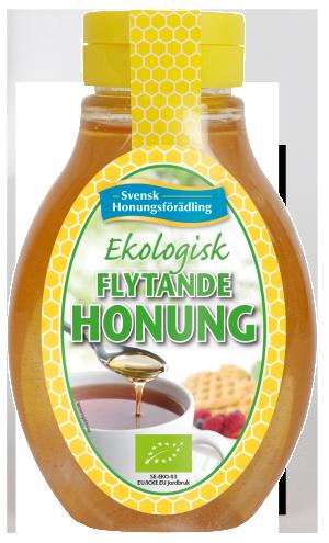 Ekologisk-Flytande-Honung