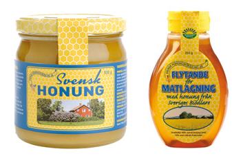 Fast honung och matlagningshonung, Svensk honungsförädling